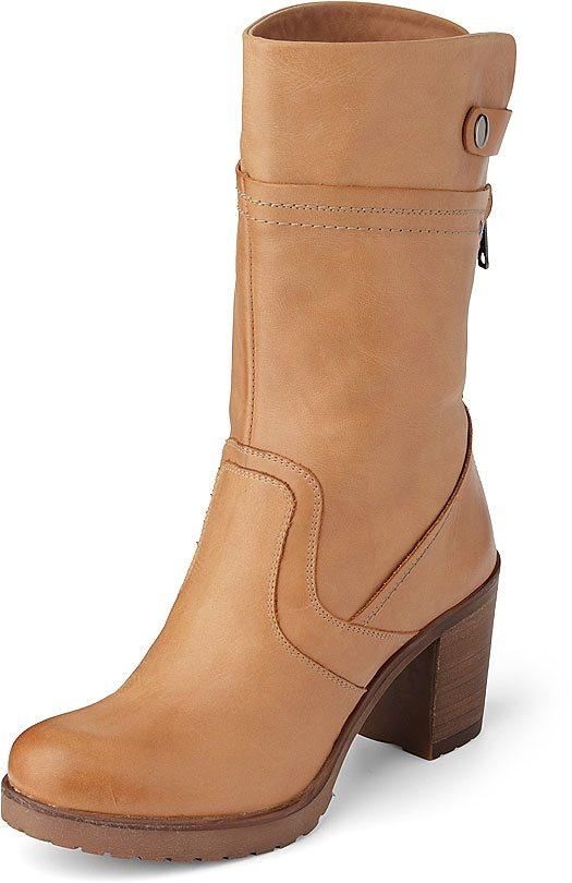 Belmondo Kurzschaft-Stiefel in beige