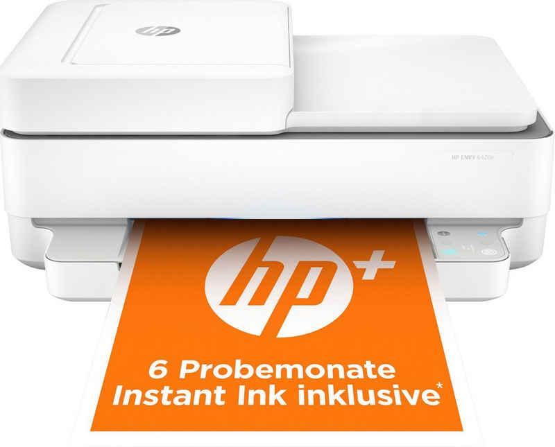 HP ENVY 6420e AiO Printer A4 color 7ppm WLAN-Drucker, (WLAN (Wi-Fi)