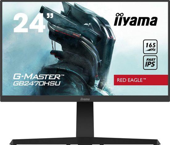 "Iiyama GB2470HSU-B1 Gaming-Monitor (61 cm/24 "", 1920 x 1080 Pixel, Full HD, 0,8 (MPRT) ms Reaktionszeit, 165 Hz, IPS)"