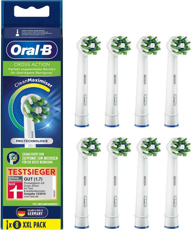 Oral B Aufsteckbürsten »CrossAction CleanMaximizer«