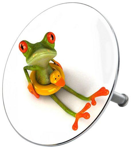 SANILO Stöpsel »Froggy«, für Badewannen und Duschen, Ø 7,2 cm