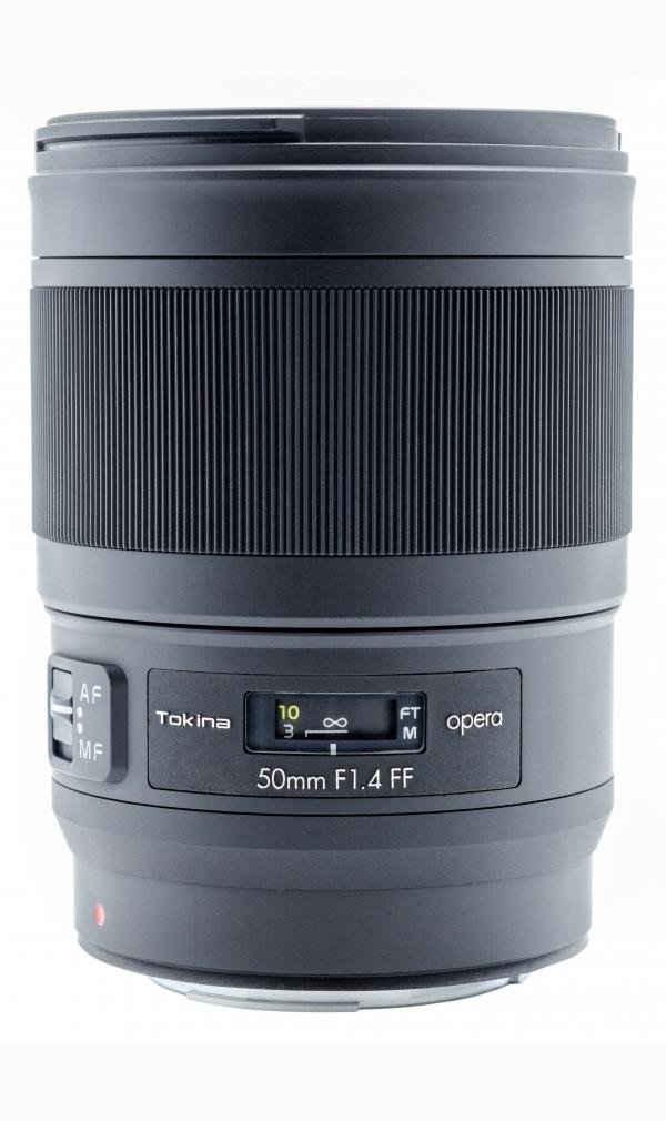 Tokina »Opera 50mm F1,4 Canon EF« Objektiv