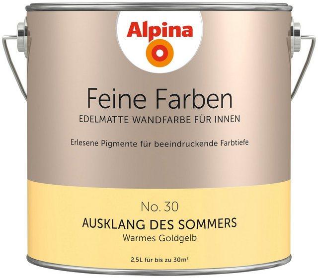 Alpina Feine Farben Ausklang des Sommers, gelb