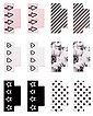 Rayher Sticker »my PLANNER Register«, 12 Stück, Bild 1