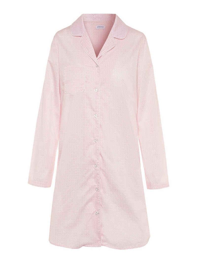 seidensticker Nachthemd »Longsleeve 'Minimals'« (1-tlg)