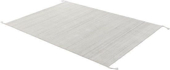 Teppich »Alura«, SCHÖNER WOHNEN-Kollektion, rechteckig, Höhe 8 mm, Hochwertiger Viskoseanteil, Wohnzimmer