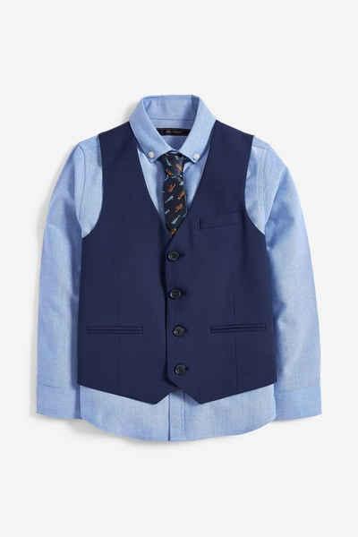 Next Anzugweste »Weste, Hemd und Krawatte im Set« (3-tlg)