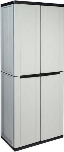 Kreher Werkzeugschrank B/T/H: 68x37,5x163,5 cm, abschließbar, mit 3 Böden
