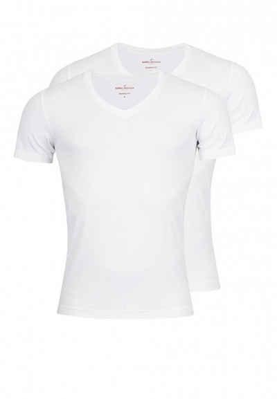 Daniel Hechter T-Shirt »Basic V-Ausschnitt« (2er-Pack)