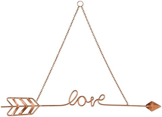 Wanddekoration »Love Story«
