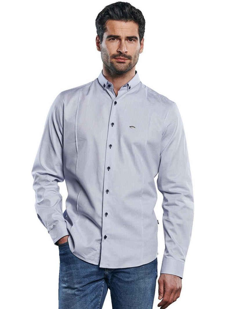 Engbers Langarmhemd »Hemd mit edlen Teilungsnähten«