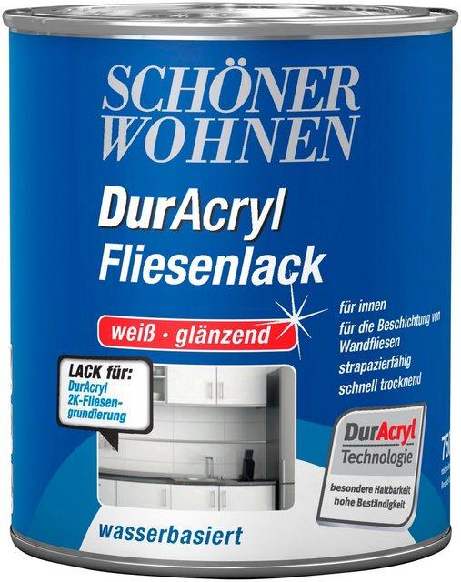 DurAcryl Fliesenlack, weiß