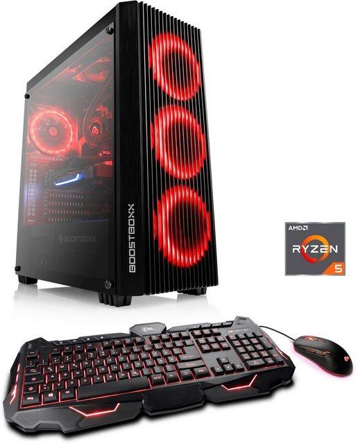 CSL HydroX L8318 Wasserkühlung Gaming-PC AMD Ryzen 5 Ryzen 5 5600X, 32 GB RAM, 2000 GB HDD, 1000 GB SSD, Wasserkühlung