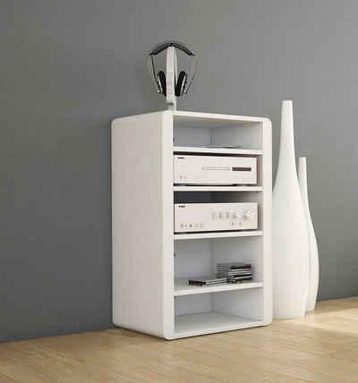 Schnepel TV-Regal »Schnepel HiFi-Möbel ELF-H60«, 1-tlg., HiFi-Möbel aus Stahlseiten mit Holzböden 600mm breit