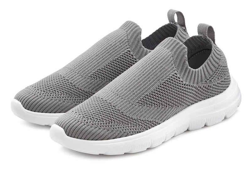 LASCANA Sneaker Slip-In ultraleicht und bequem zum Reinschlüpfen