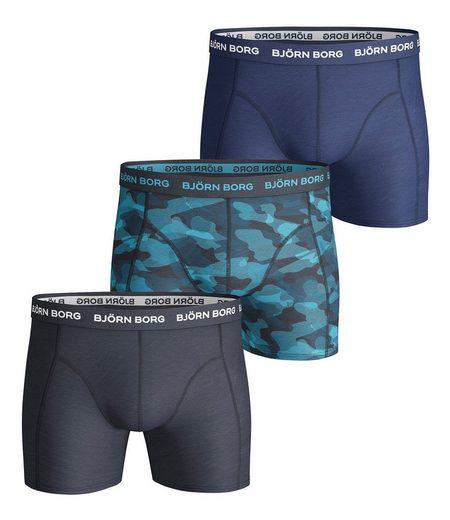 Björn Borg Boxer »Herren Boxershorts 3er Pack - Pants, Cotton«