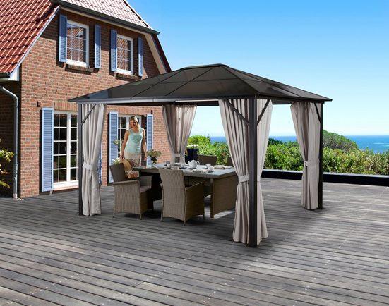 KONIFERA Pavillon mit Seitenteilen »Aruba«, BxL: 300x400 cm