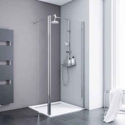 Schulte Walk-in-Dusche »Alexa Style 2.0«, Sicherheitsglas, Breite 100 cm