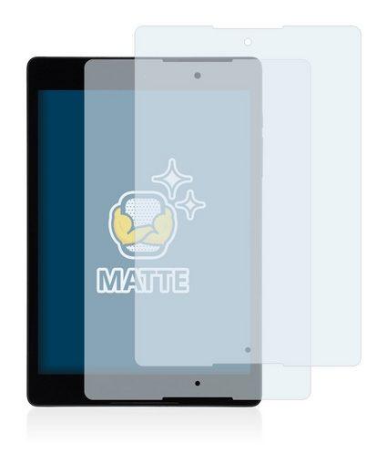 BROTECT Schutzfolie »für HTC Nexus 9«, (2 Stück), Folie Schutzfolie matt entspiegelt