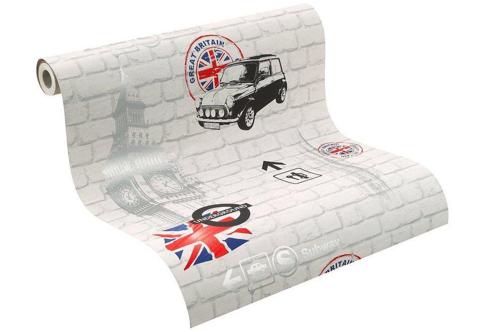 papiertapete rasch london online kaufen otto. Black Bedroom Furniture Sets. Home Design Ideas