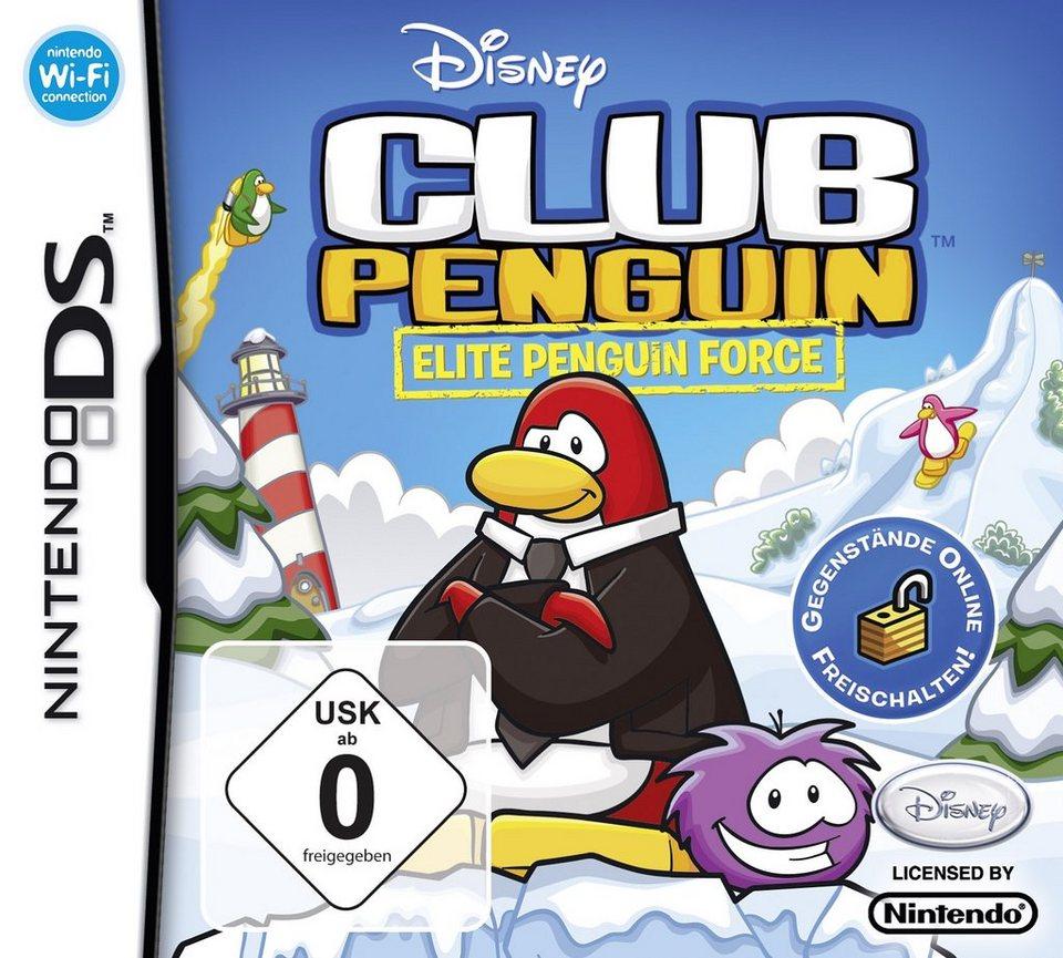 Disney Nintendo DS - Spiel »Club Penguin - Elite Penguin Force«