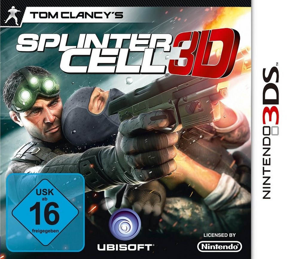 Nintendo 3DS - Spiel »Tom Clancy's Splinter Cell 3D«