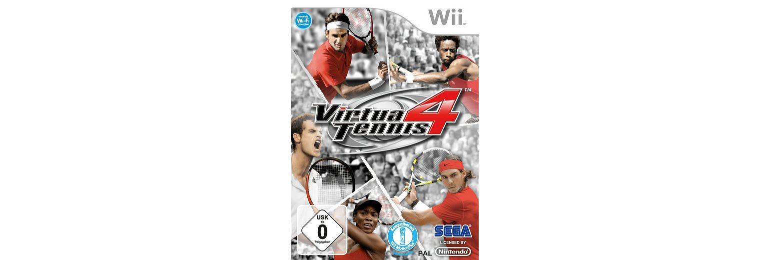 Wii - Spiel »Virtua Tennis 4«