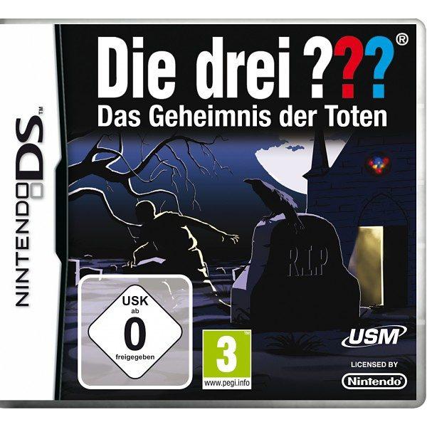 USM Nintendo DS - Spiel »Die drei ???: Das Geheimnis der Toten«