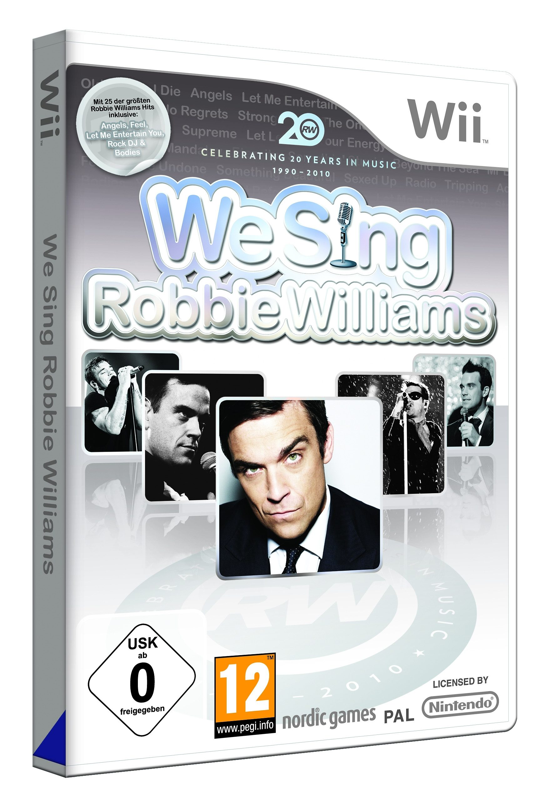 Nordic Games Wii - Spiel »We Sing: Robbie Williams (Standalone)«