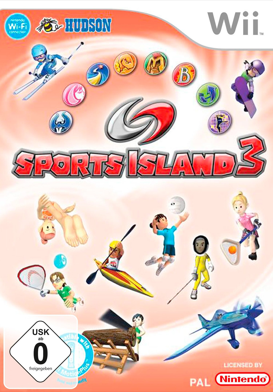 Wii - Spiel »Sports Island 3«