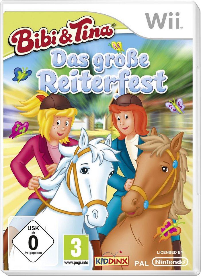 Wii - Spiel »Bibi & Tina - Das große Reiterfest«