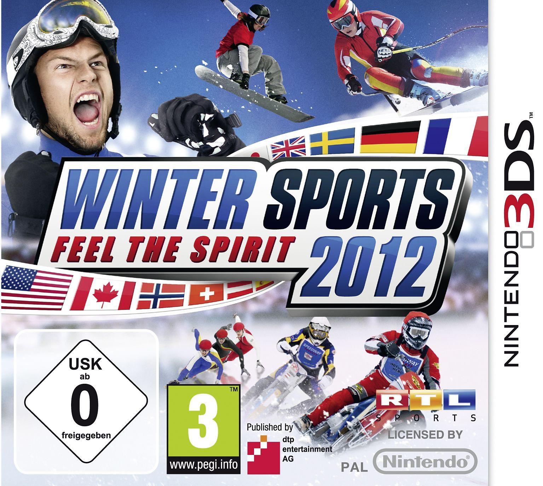 dtp Nintendo 3DS - Spiel »Winter Sports 2012 - Feel the Spirit«