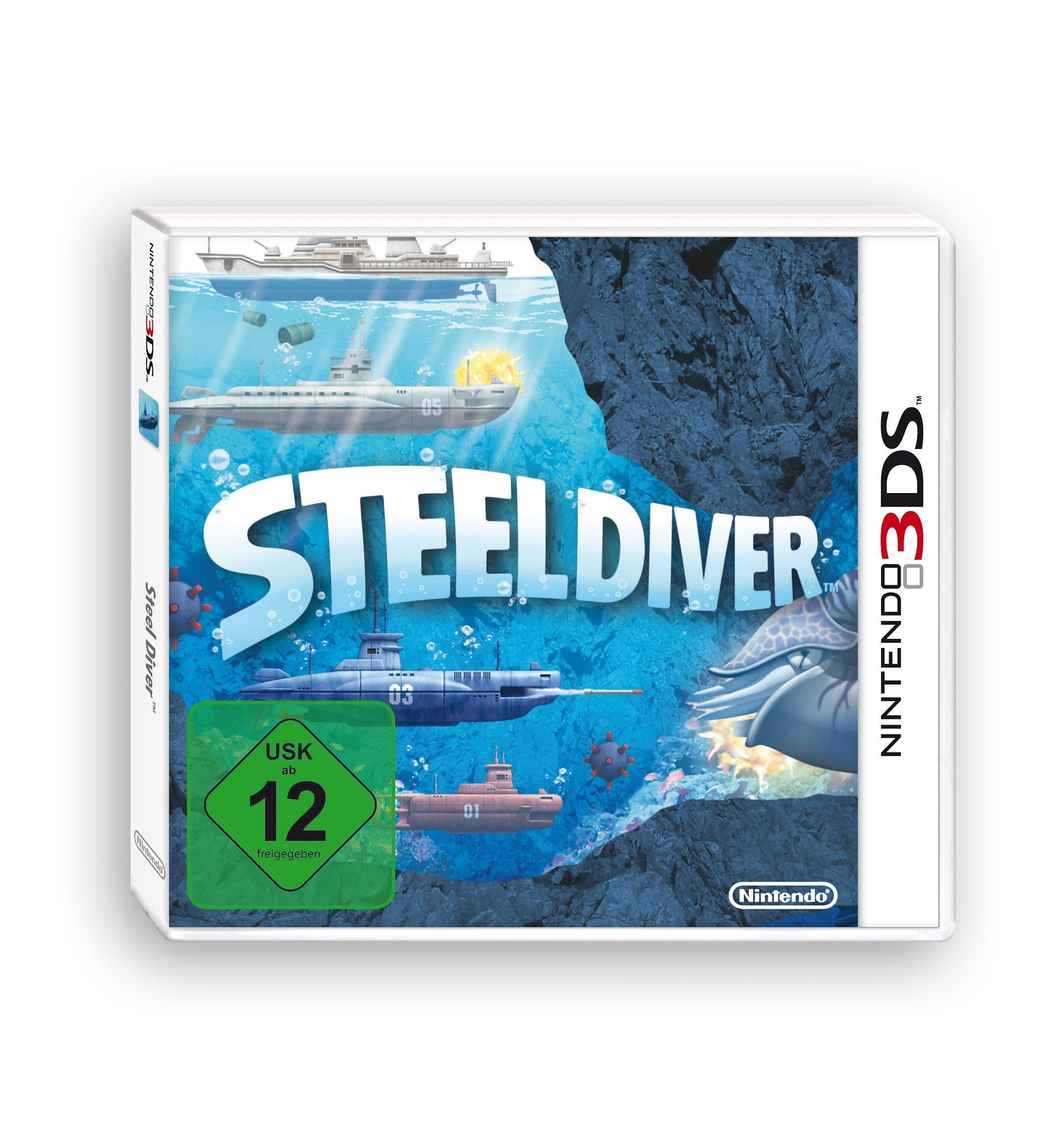 Nintendo Nintendo 3DS - Spiel »Steel Diver«
