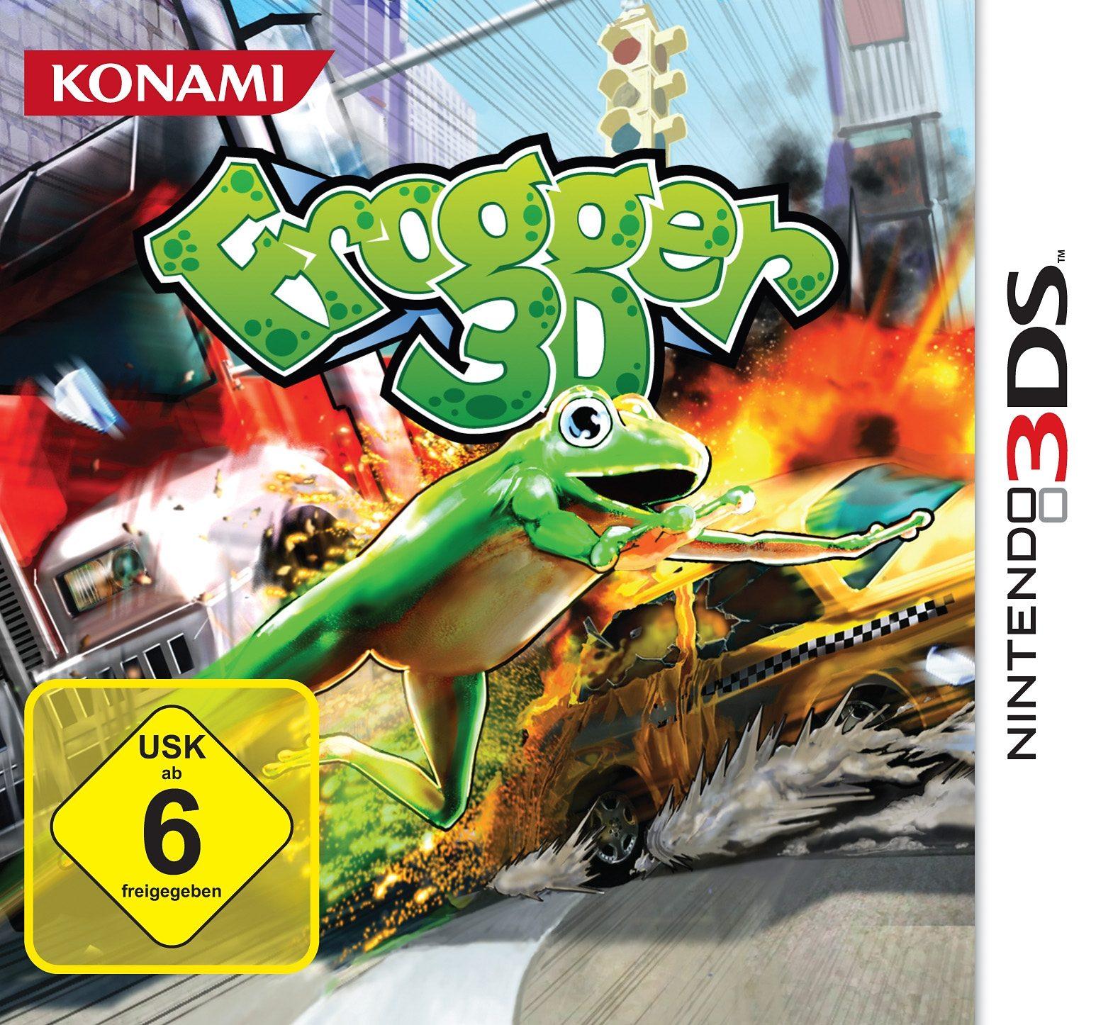 Konami Nintendo 3DS - Spiel »Frogger«