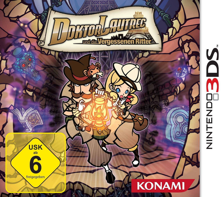 Konami Nintendo 3DS - Spiel »Doktor Lautrec und die Vergessenen Ritter«