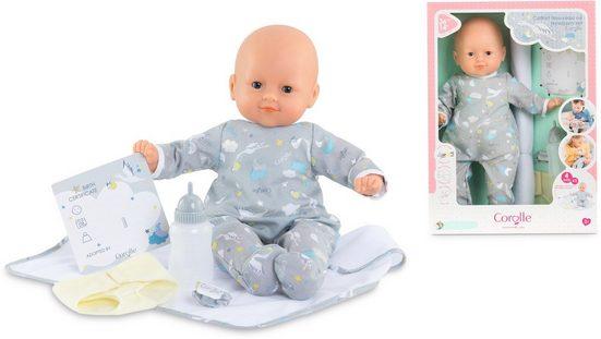 Corolle® Babypuppe »Mon grand poupon, Mein Neugeborenen Set«, mit Vanilleduft