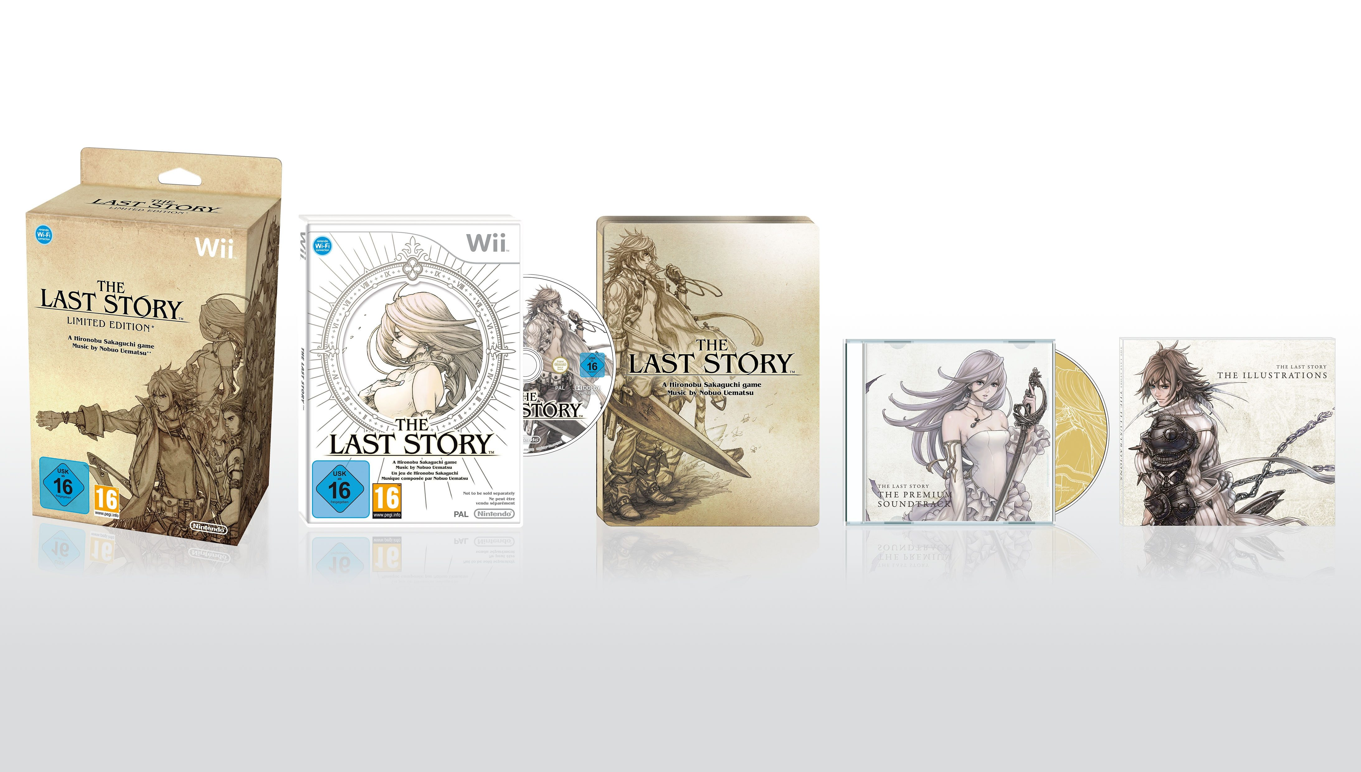 Nintendo Wii - Spiel »The Last Story - Special Edition«
