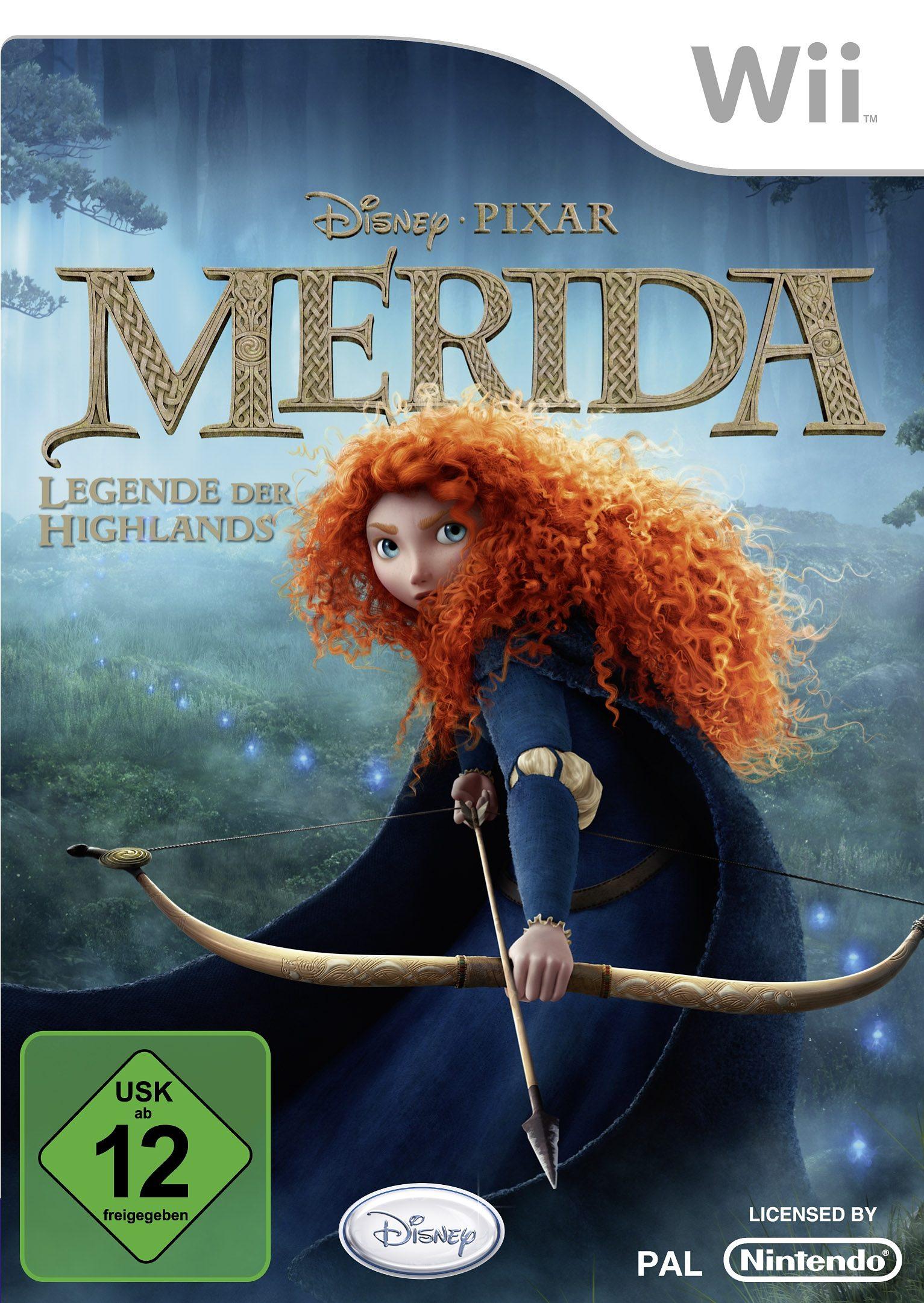 Disney Wii - Spiel »Merida - Legende der Highlands«