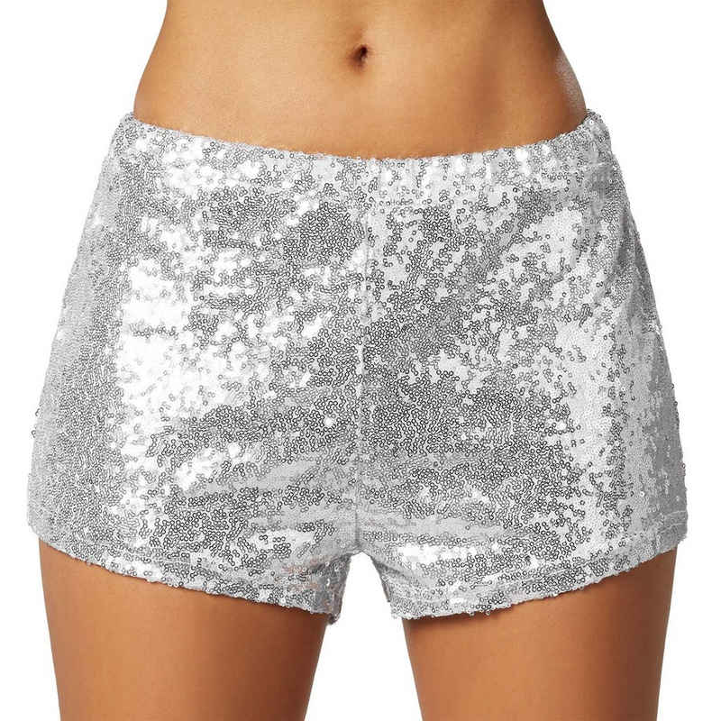 dressforfun Hotpants »Pailletten-Shorts« (1-tlg)