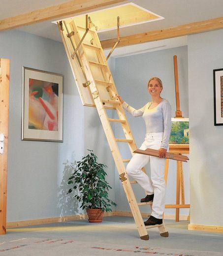Dolle Bodentreppe »Kompakt«, für Geschosshöhen bis 285 cm