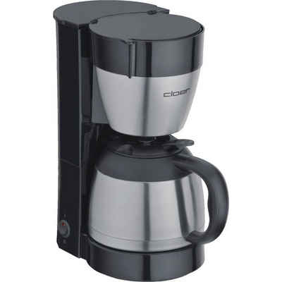 Cloer Filterkaffeemaschine Filterkaffee-Automat 5009, 1x4