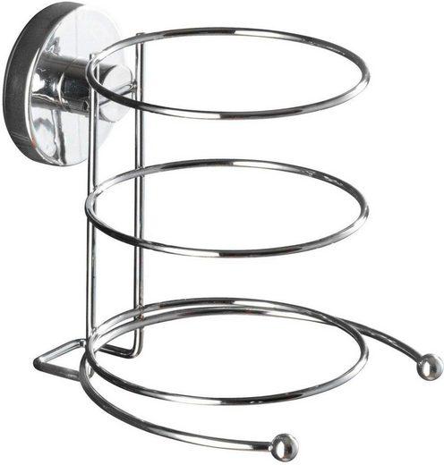 WENKO Haartrocknerhalter, (Vacuum-Loc Befestigung ohne bohren)