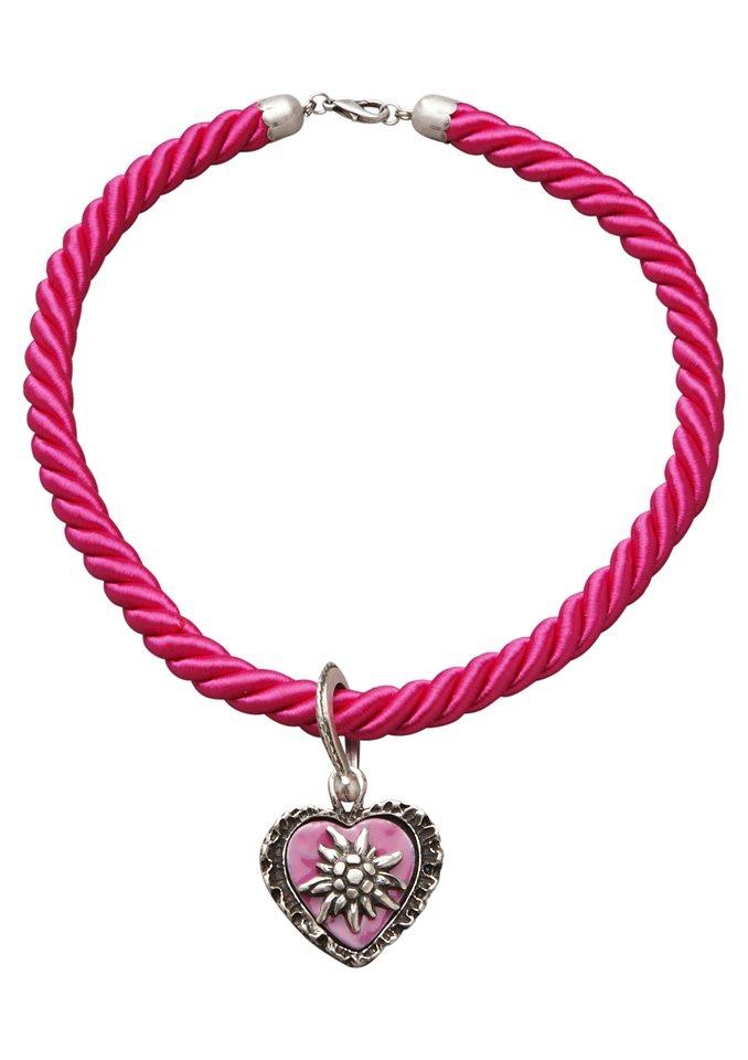 Kordelkette, Klimm in pink