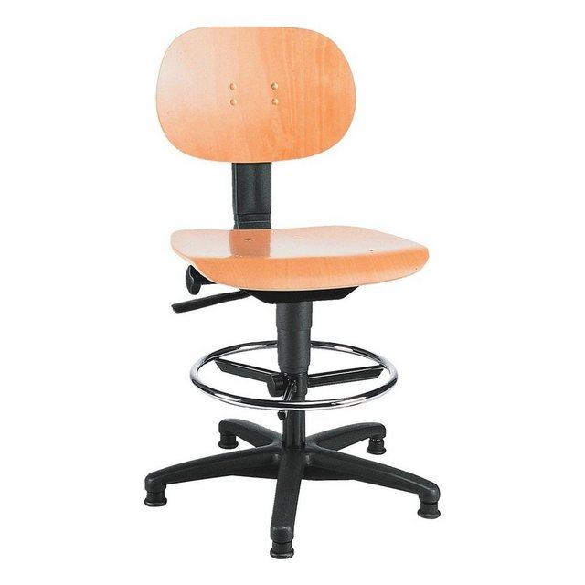 Bürostühle - TOPSTAR Arbeitsdrehstuhl ohne Armlehnen »Tec 11 Counter« » schwarz  - Onlineshop OTTO