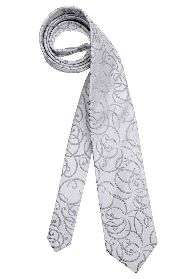 Studio Coletti Krawatte in silberfarben-gemustert