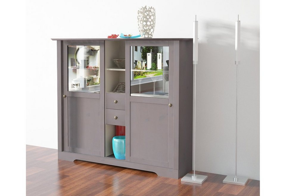 Highboard Home affaire Breite 140 cm Höhe 120 cm online