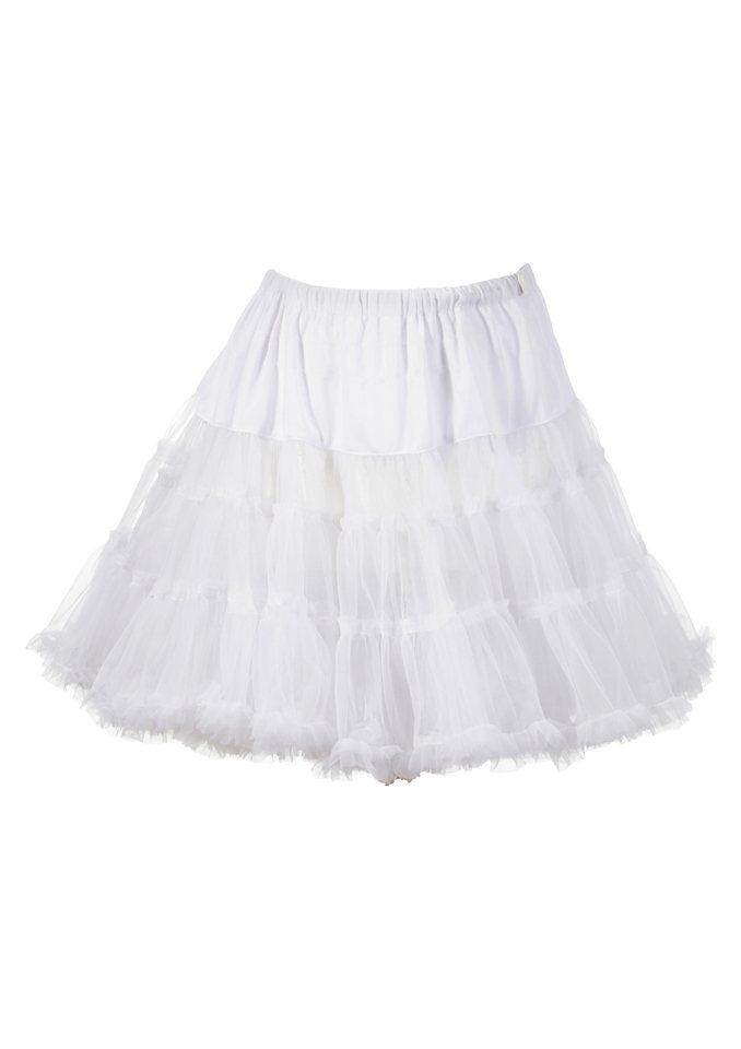 Petticoat Länge ca. 50 cm, Krüger Madl in weiß