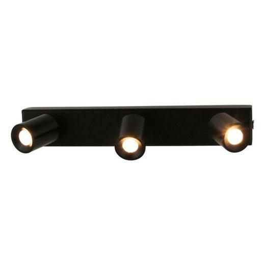 VBLED LED Deckenspot »LED 3x1W warmweiße Deckenspot-Aufbauleiste Rotier- & Schwenkbar«
