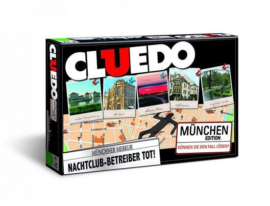 Winning Moves Spiel, Brettspiel »Cluedo München«