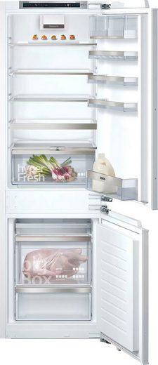SIEMENS Einbaukühlgefrierkombination iQ500 KI86NADF0, 177,2 cm hoch, 55,8 cm breit
